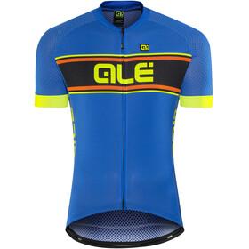 Alé Cycling Solid Vetta Kortärmad cykeltröja Herr gul/svart
